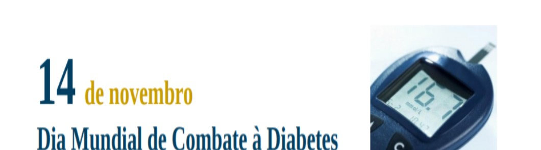 Dia Mundial de Combate à Diabetes