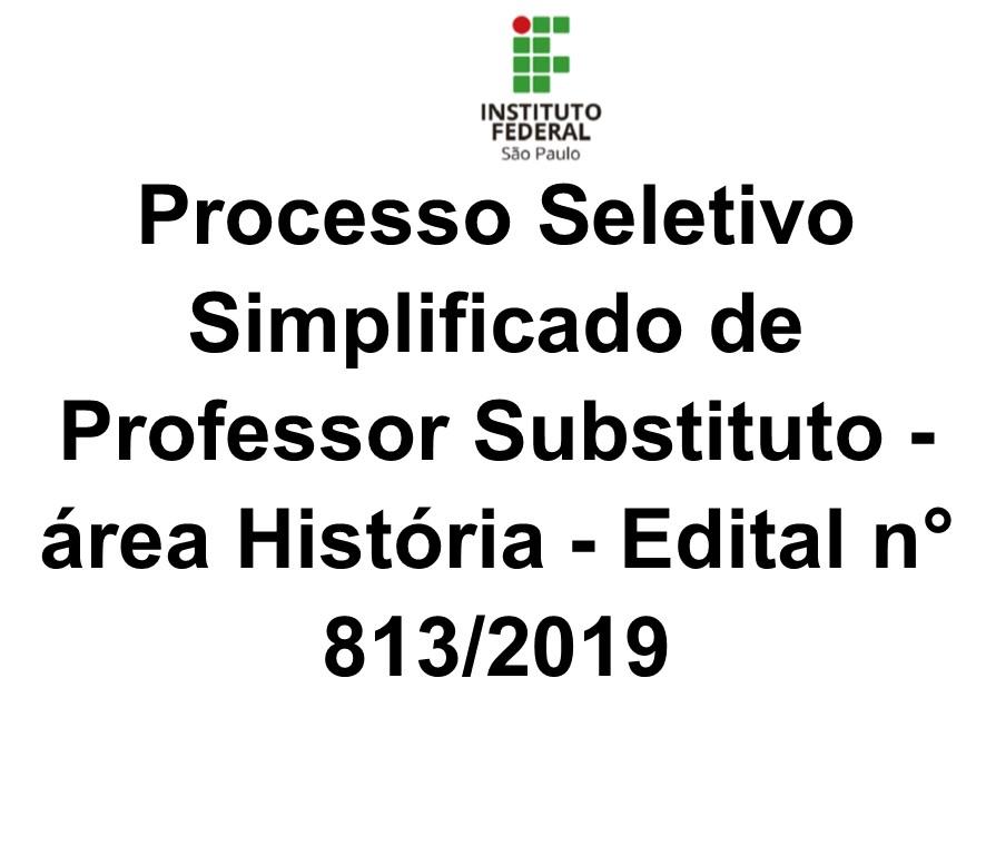Processo Seletivo área História