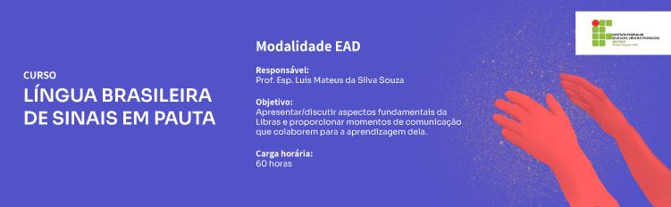 Curso de Libras Modalidade EAD