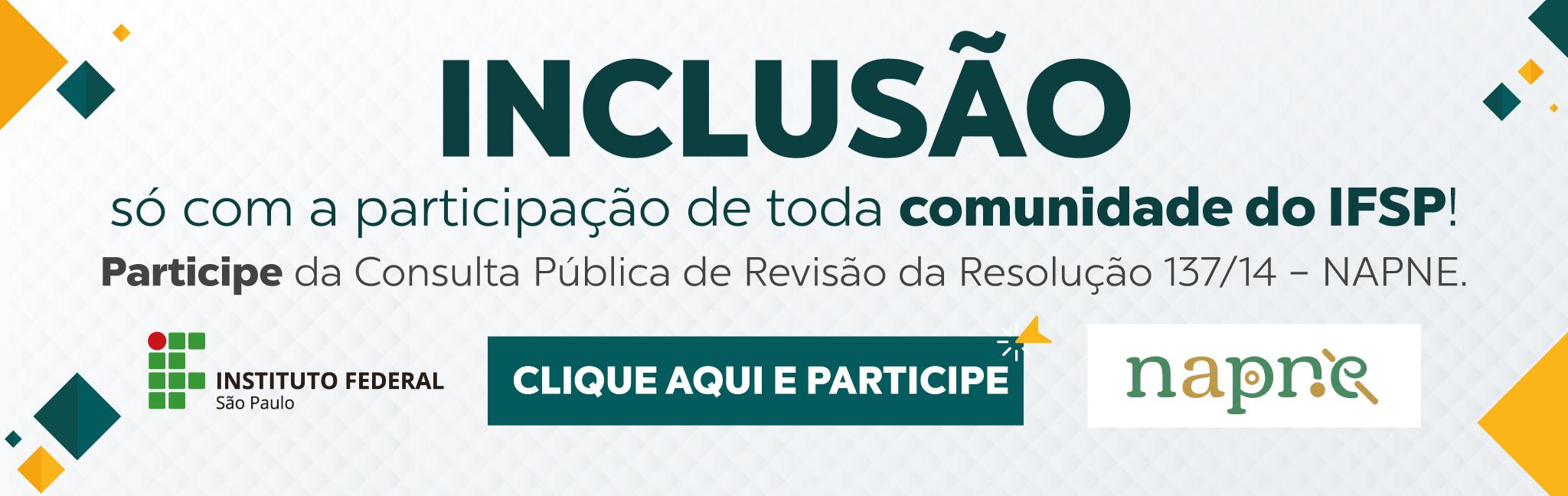 Consulta Pública Resolução 137/14 - Regulamento NAPNE