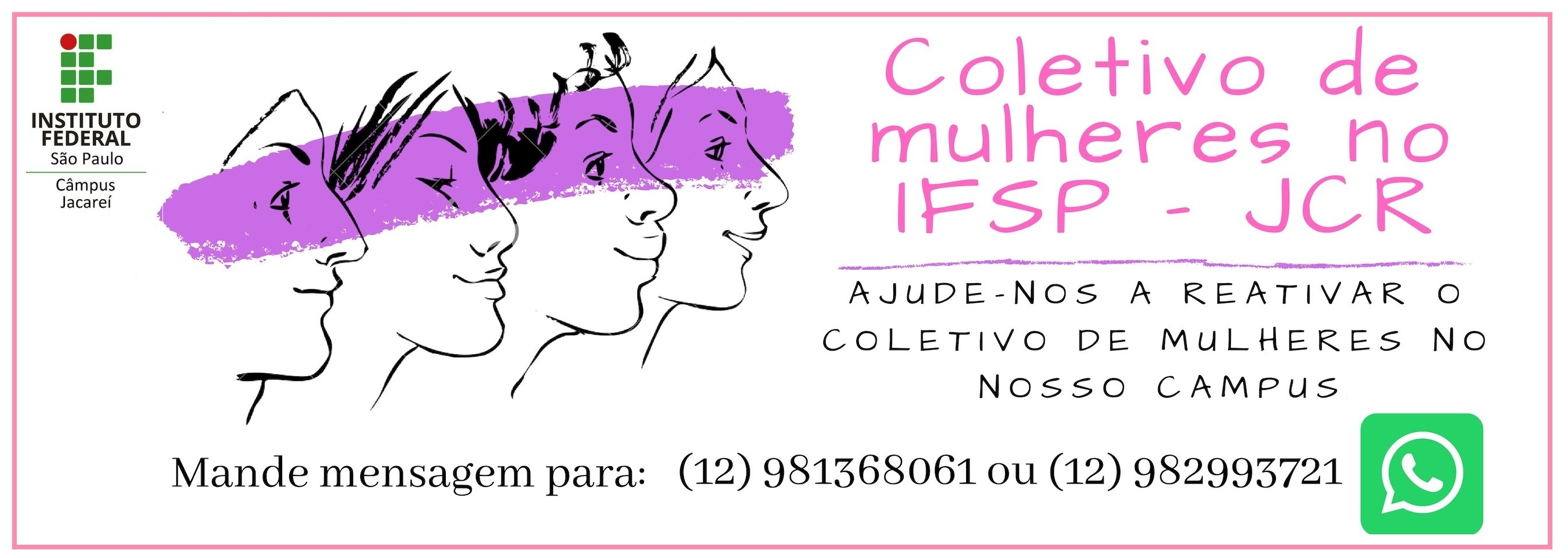 Coletivo de Mulheres no IFSP - Câmpus Jacareí